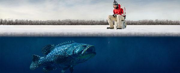 Зимняя рыбалка в гомельской области