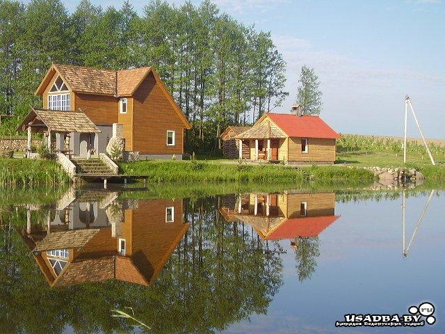 рыбалка с домом у воды